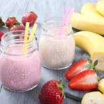 Strawberry smoothie — Stock Photo #40462051