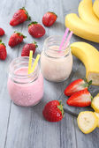 Strawberry smoothie — Stock Photo