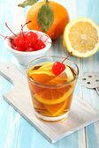 Fruit cocktail — Stock Photo