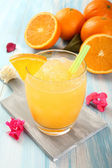 Frozen orange drink — Stock Photo
