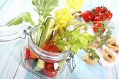 Vegetables salad — Stockfoto