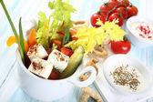 Vegetables salad — Stock Photo