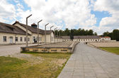 Dachau- memorial and barracks — Stock Photo