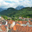 Fussen Germany ,city del'allgau 2 — Stock Photo