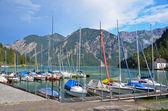 普兰湖,湖奥地利 2 — 图库照片