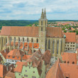 Rothenburg ob der Tauber, Church of St. James — Stock Photo