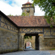 Rothenburg ob der Tauber, door fortification 1 — Stock Photo #16802247