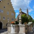 Rothenburg ob der Tauber, Fountain 1 — Stock Photo #16802583