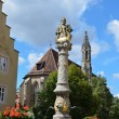 Rothenburg ob der Tauber, Fountain 2 — Stock Photo
