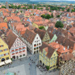 Rothenburg ob der Tauber, overview 11 — Stock Photo #16803451