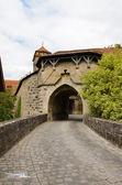 Rothenburg ob der tauber, fortificação de porta 2 — Fotografia Stock
