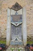 Rothenburg ob der Tauber, Memorial — Stock Photo