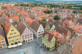 Rothenburg ob der Tauber, overview 11 — Stock Photo