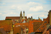 Rothenburg ob der Tauber, overview 2 — Foto Stock