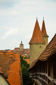 Rothenburg ob der Tauber, overview 3 — Stock Photo