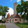 Rothenburg ob der Tauber, castle gate 1 — Stock Photo #16817773