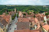Rothenburg ob der Tauber, overview 7 — Stock Photo