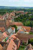 Rothenburg ob der Tauber, overview 9 — Stock Photo
