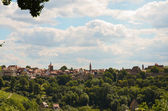 Rothenburg ob der Tauber, panoramic 1 — Stock Photo