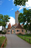 Rothenburg ob der Tauber, the castle gate 1 — Stock Photo