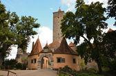 Rothenburg ob der Tauber, the castle gate 2 — Stock Photo