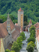 Rothenburg ob der Tauber, the castle gate 4 — Stock Photo