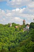 Rothenburg ob der tauber, vista torri 1 — Foto Stock