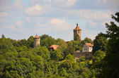 Rothenburg ob der Tauber, view towers 2 — Stock fotografie