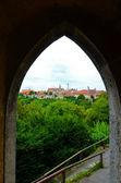 Rothenburg ob der Tauber, overview 4 — 图库照片