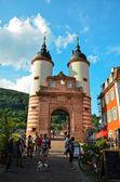 Heidelberg, gateway to the bridge 1 — Stock Photo