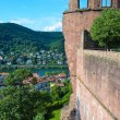 Stock Photo: Heidelberg, castle ruins 4