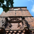 Stock Photo: Heidelberg, main entrance to castle 1