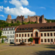 Heidelberg, view of castle and its ruins 2 — Stock Photo #17978301