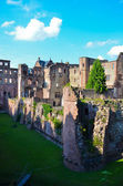 Heidelberg, castle ruins 3 — Stock Photo