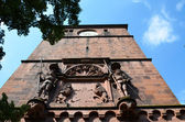 Heidelberg, entrada principal do castelo 1 — Fotografia Stock