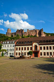 Heidelberg, view of the castle and its ruins 2 — Stock Photo