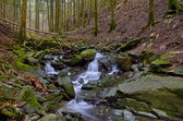 Vallombrosa forest, waterfall 1 — Stock Photo