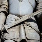 деталь статуи, Уффици Флоренция — Стоковое фото