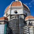 Restoration of the Cathedral of Florence - Stock Photo