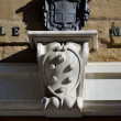 Stock Photo: Coat of arms at entrance of Medici Chapels, Florence 2