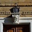 Stock Photo: Coat of arms at entrance of Medici Chapels, Florence