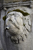 Detail of a fountain, Viterbo — Stock Photo