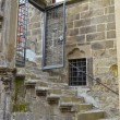 Staircase of a historic building, Viterbo — Stock Photo
