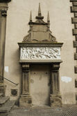 Stele of the beautiful Galiana, Viterbo — Stock Photo