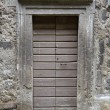 Stock Photo: Old doorway, Bomarzo