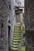 Staircase medieval, Bomarzo — Stock Photo