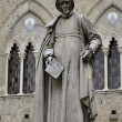 Stock Photo: Statue of Sallustio Bandini, Siena