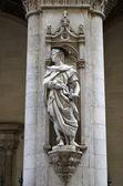 Statue, Siena — Stock Photo