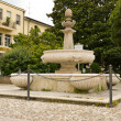 The fountain of Cervia — Stock Photo