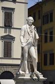 Statue of Carlo Goldoni, Florence — Stock Photo